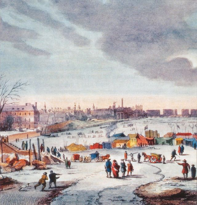 Thames Frost Fair, 1683–84, by Thomas Wyke